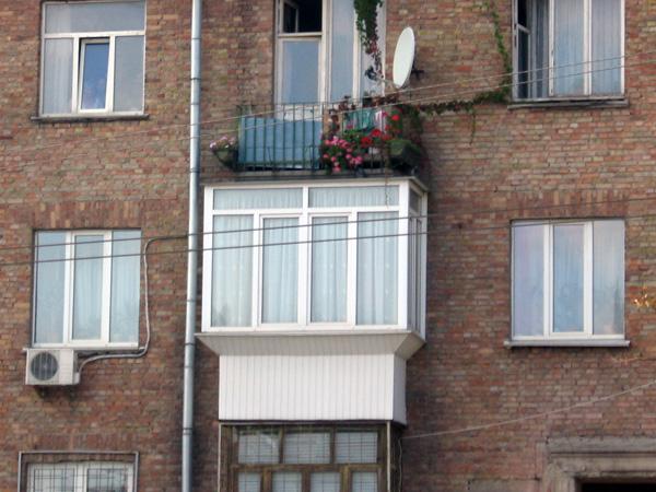 Обшивка балкона Киев 0002