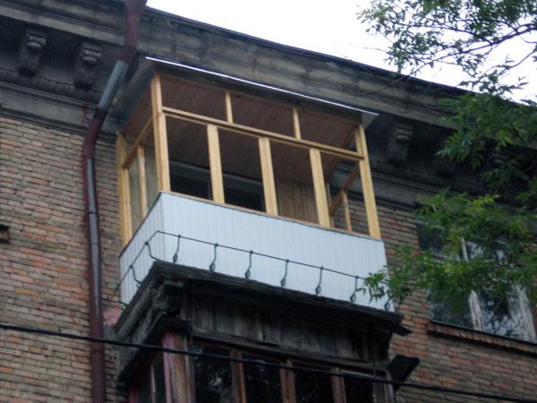Обшивка балкона в Киеве 0003