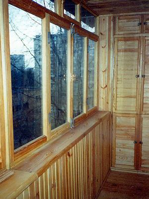Остекоение балкона