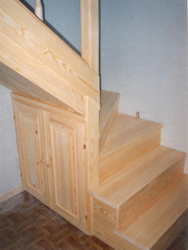 Лестницы дерево