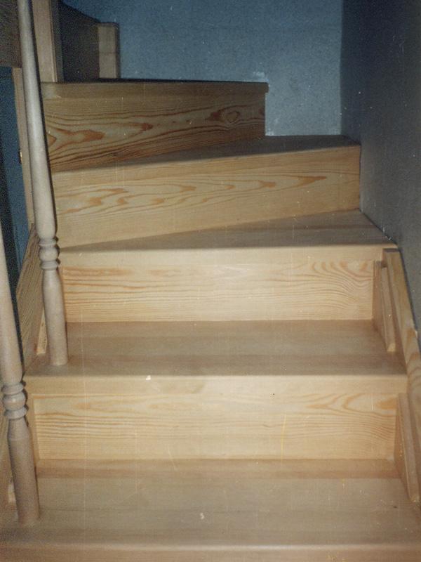 Деревянные лестницы из бука