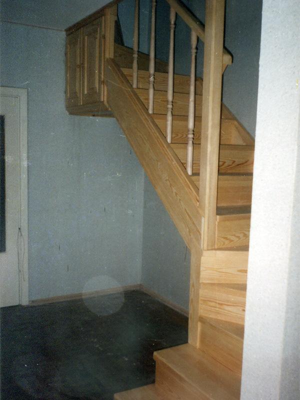Деревянные лестницы Киев