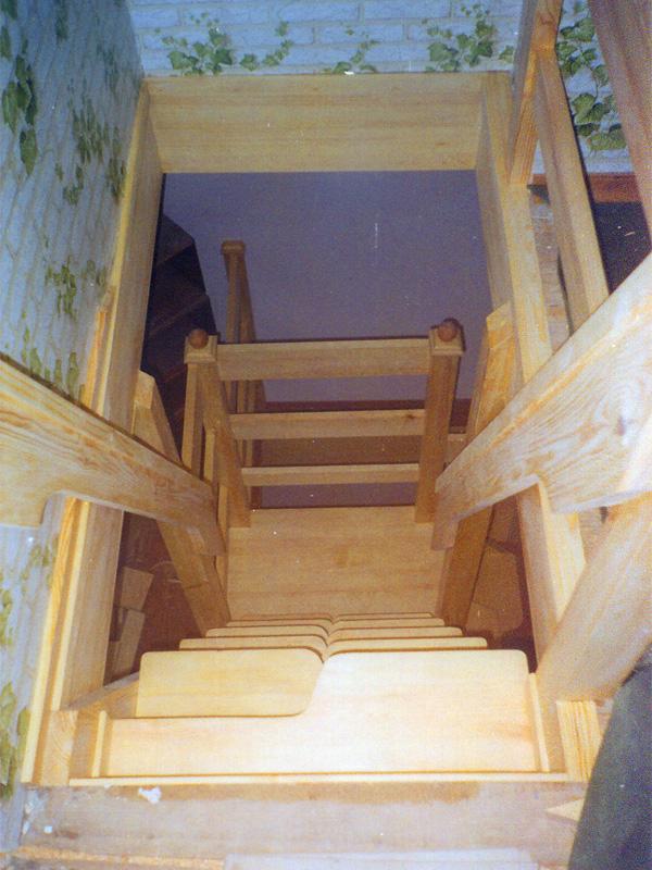 Лестницы из дерева стоимость