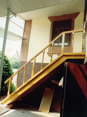 Деревянные лестницы Киев цена