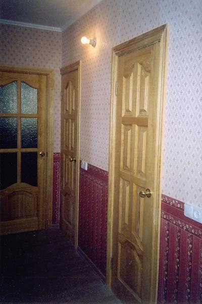 Дубовые деревянные двери