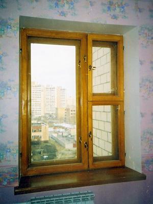 Окна из дерева Киев