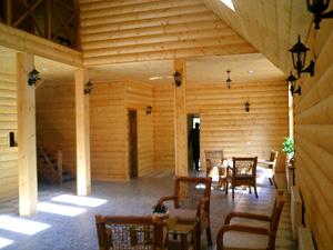 Внутренняя обшивка блок хаус